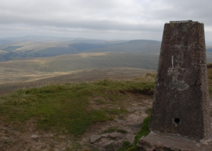 Brecon Beacons from Fan Brycheiniog